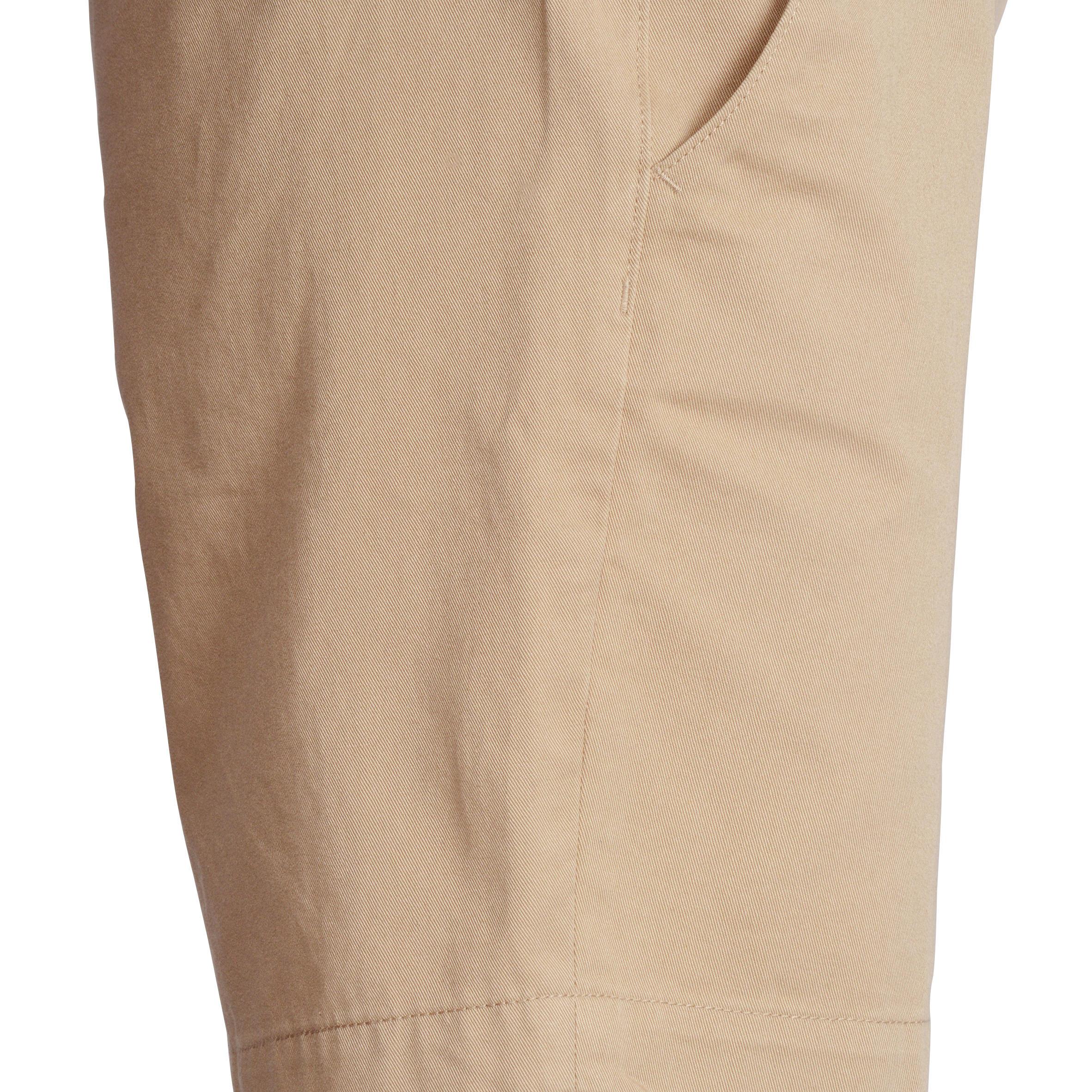 Women Golf Shorts 500 Beige