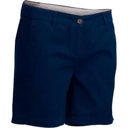 Women Golf Shorts 500 Navy