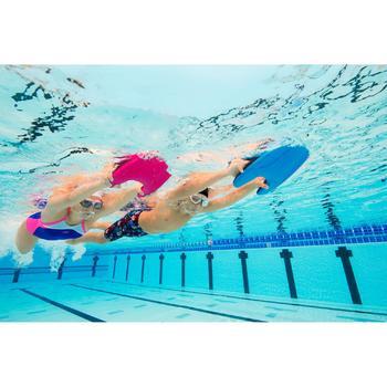 Maillot de bain de natation une pièce fille Kamiye light panel bleu rose - 1126746