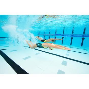 Lunettes de natation SUEDOISES jaune argent miroir - 1126752
