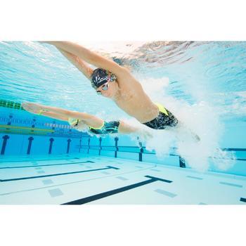 Lunettes de natation SUEDOISES jaune argent miroir - 1126755
