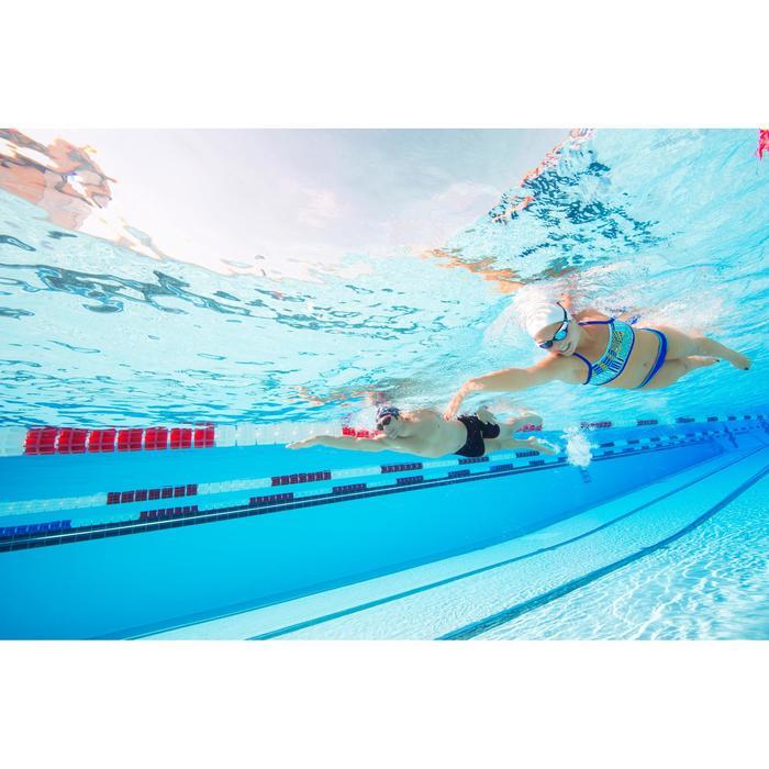 Brassière de natation femme ultra résistante au chlore Jade vib - 1126802