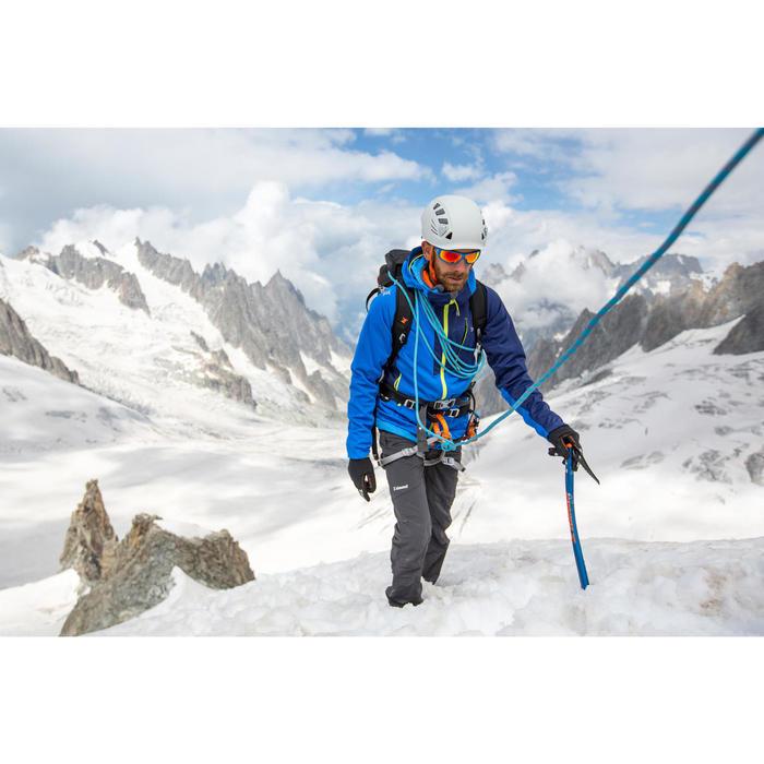 Bergjacke Softshell Alpi Light Herren blau