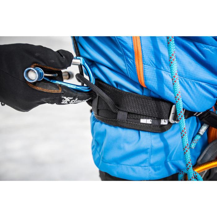 攀岩及登山運動吊帶-黑灰