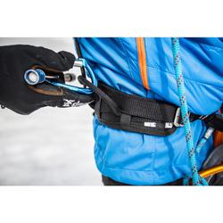 Klim- en alpinismegordel Rock zwart grijs