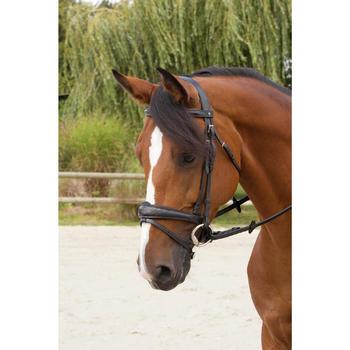 Filet + rênes équitation PULL BACK - taille cheval - 1126966