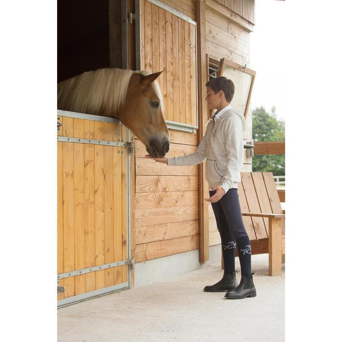 Sweat equitation enfant HORSE chiné - 1126985