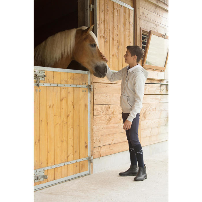 Classic One Adult / Children's Horse Riding Jodhpur Boots - Black - 1126988