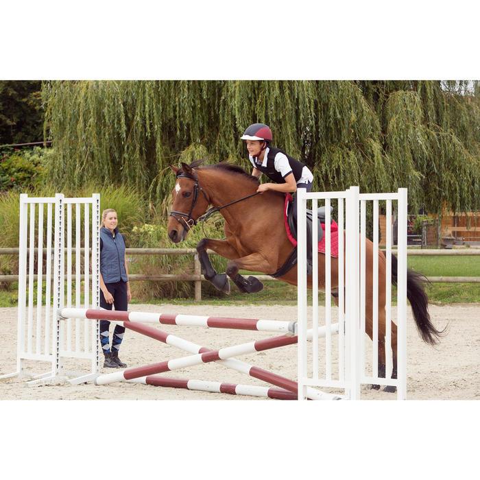 Casque équitation SAFETY CABRIOLE rouge et - 1127004