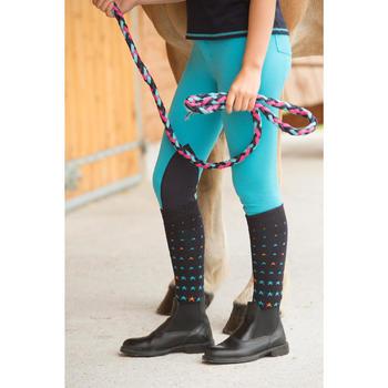 Boots équitation enfant et adulte CLASSIC ONE noir