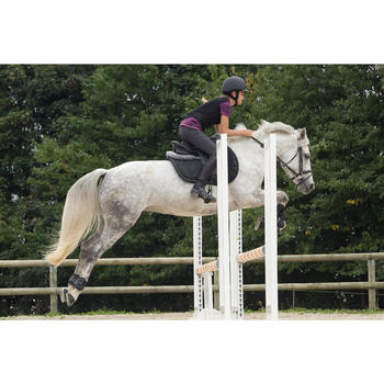 Protection dorsale souple équitation enfant et adulte noir - 1127015