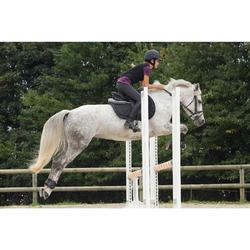 Protection dorsale souple équitation enfant et adulte noir