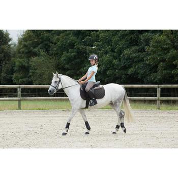 Filet + rênes équitation cheval et poney SCHOOLING cuir noir - 1127018