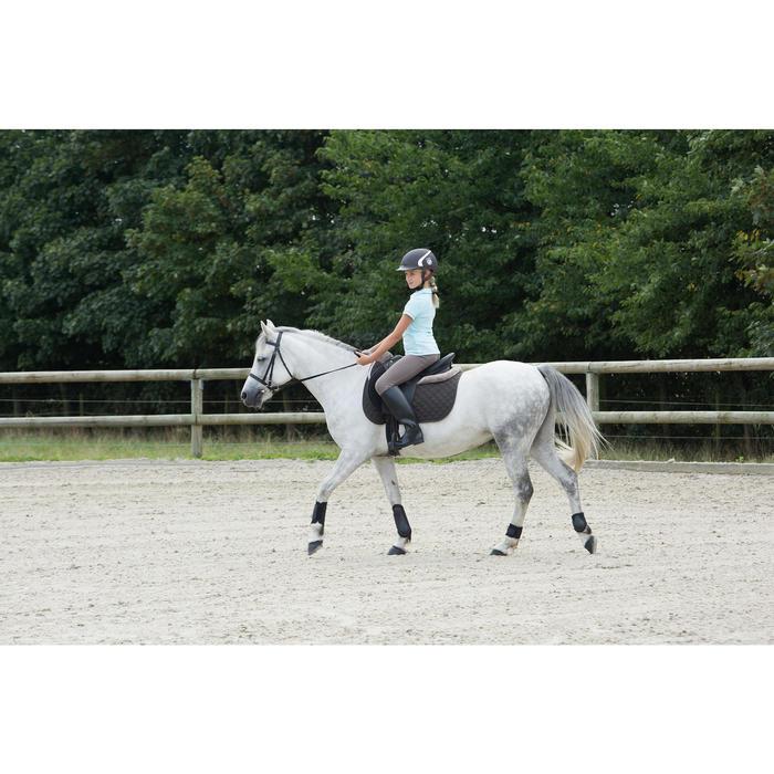 2 protège-boulets équitation poney et cheval SOFT noir - 1127020