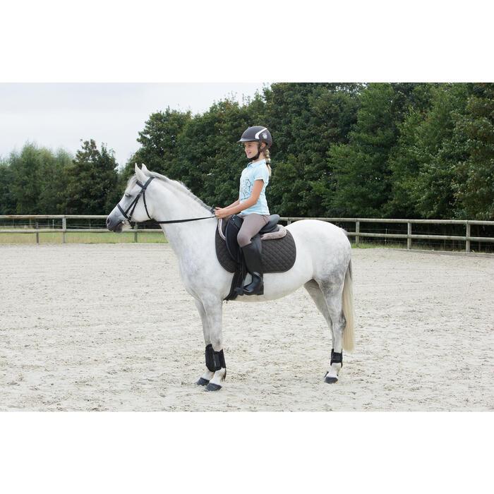 Pantalon équitation enfant 140 basanes marron