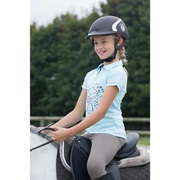 Casque équitation SAFETY CABRIOLE rouge et - 1127024