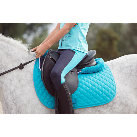 Lena Horse Riding Fleece Foam Saddle Pad For Horse And