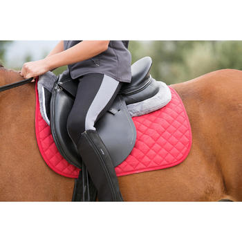 Tapis de selle équitation poney et cheval SCHOOLING - 1127028