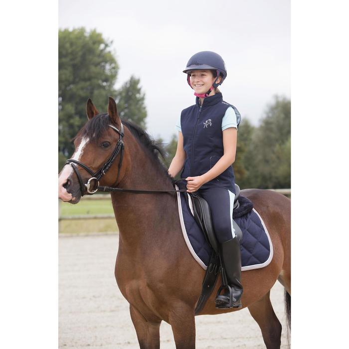 Gilet sans manche équitation enfant Accessy - 1127029