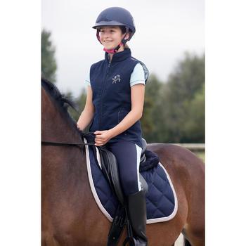 Gilet sans manche équitation enfant Accessy - 1127034