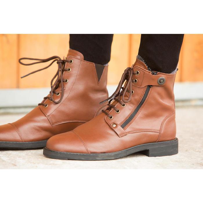 Boots équitation adulte TRAINING LACET 700 - 1127041