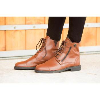 Boots équitation adulte TRAINING LACET 700 - 1127048