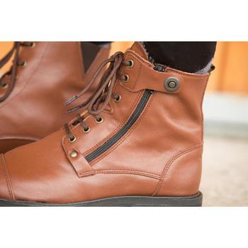 Boots équitation adulte TRAINING LACET 700 - 1127054