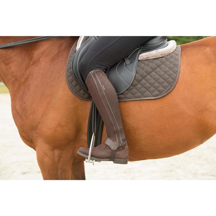 Zadeldek Schooling ruitersport pony en paard bruin