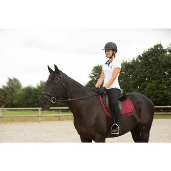 Tapis de selle équitation poney et cheval STRASS - 1127072