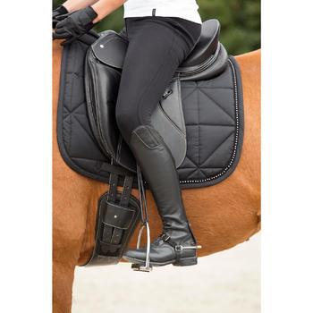 Zadeldek dressuur Strass voor paard zwart