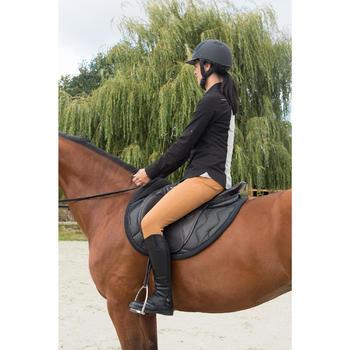 Mini-chaps équitation adulte PADDOCK 700 cuir - 1127080