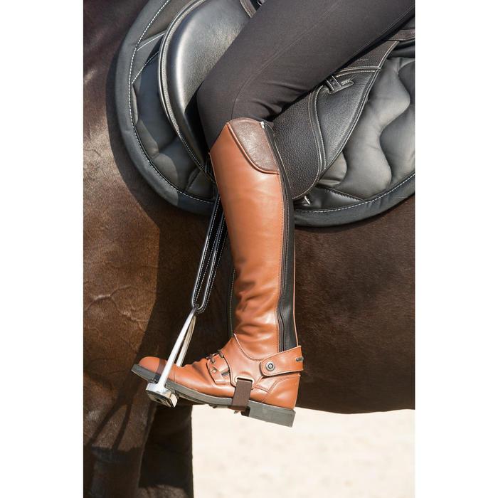 Étrivières cuir équitation enfant et adulte ROMEO - 1127103
