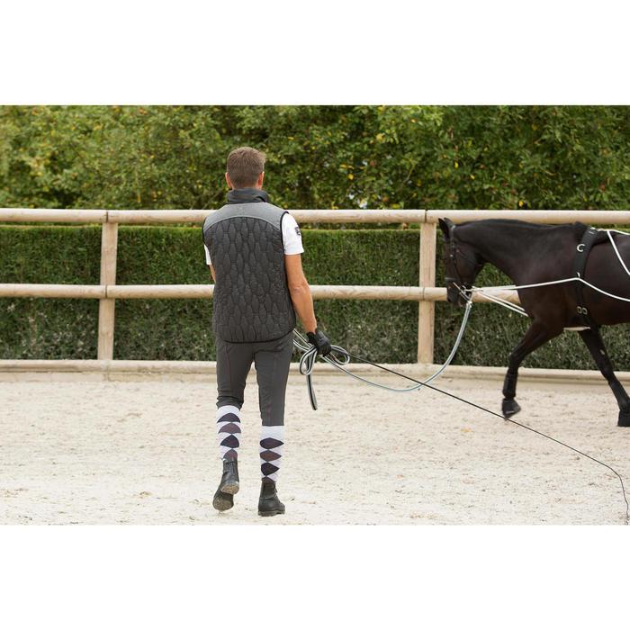 Chambrière équitation SCHOOLING noir