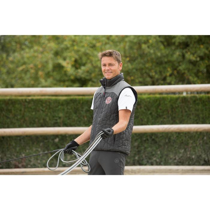 Longe de travail équitation SOFT gris et - 1127122