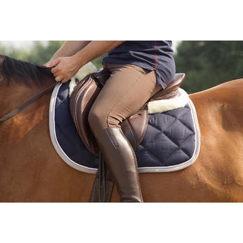 Pantalon équitation homme BR560 GRIP basanes silicone - 1127138
