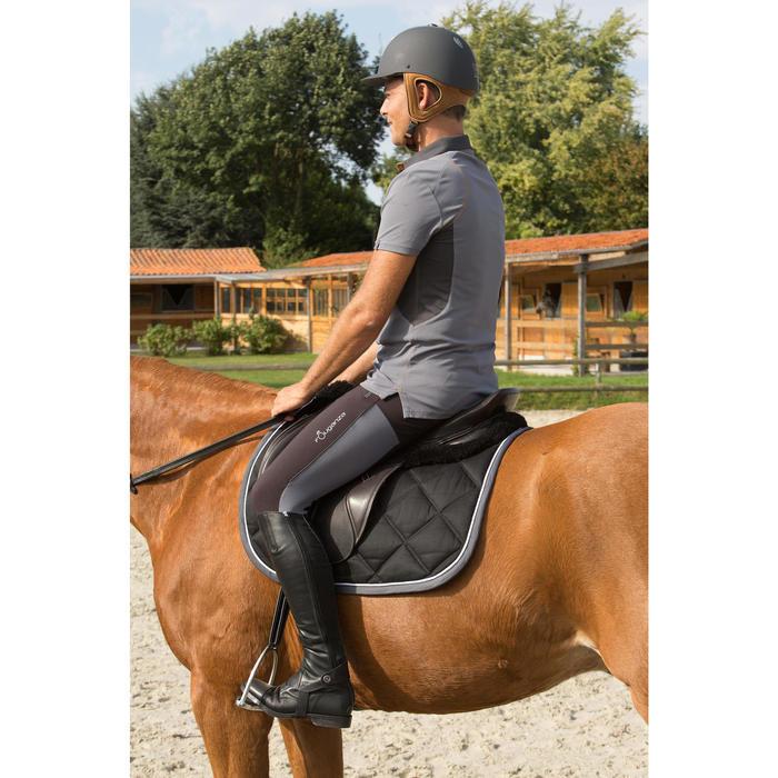 Mini-chaps équitation adulte PADDOCK 700 cuir - 1127143