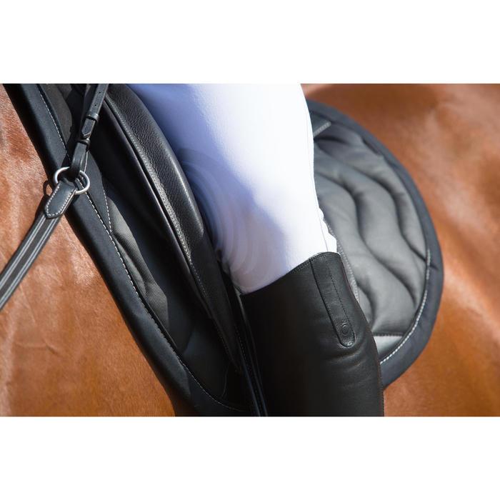 Pantalon Concours équitation homme BR560GRIP basanes silicone blanc - 1127149