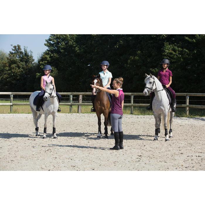 Filet + rênes équitation cheval et poney SCHOOLING cuir noir - 1127168