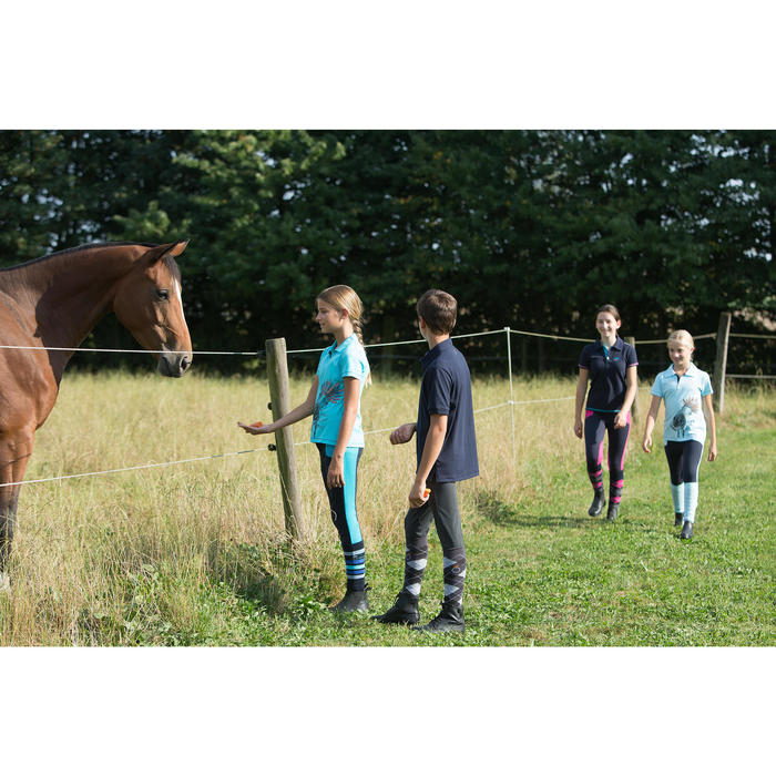 Pantalon équitation enfant BICOLO - 1127169