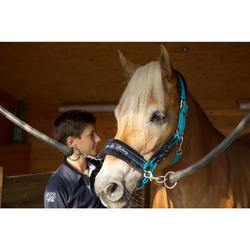 Pack cabestro + Ronzal Equitación Fouganza WINNER Turquesa Caballo y Poni