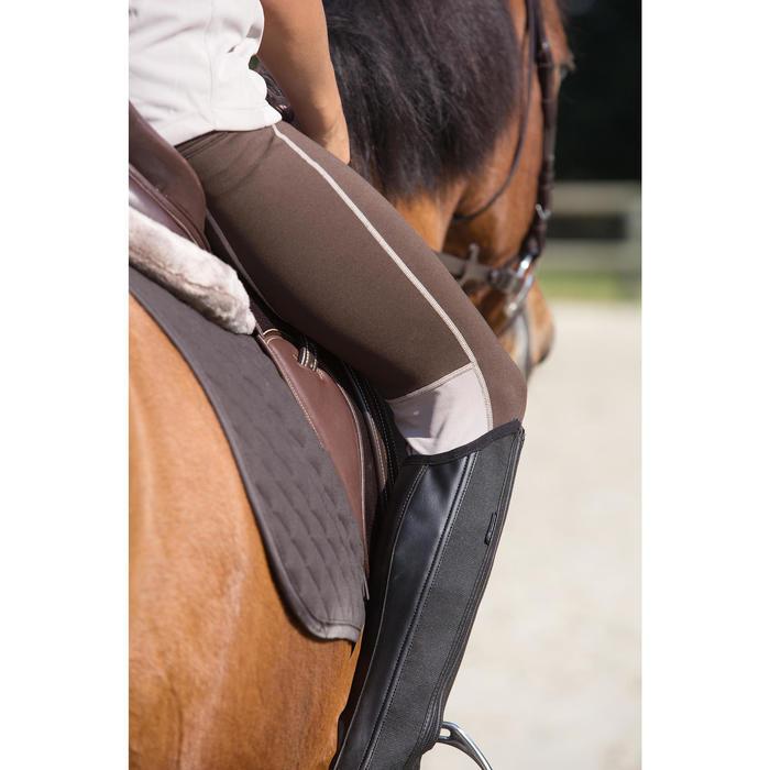 Polainas equitación niños CLASSIC 100 SINTÉTICO Negro