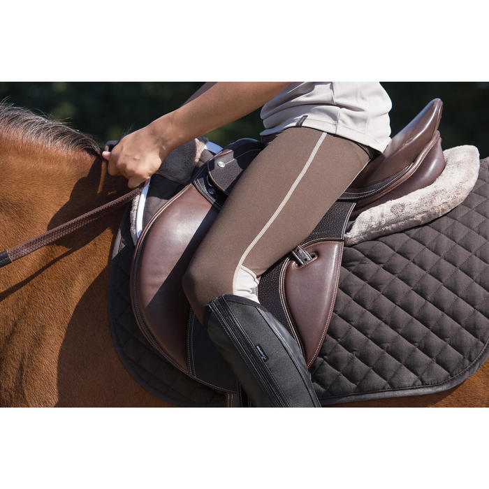 Amortisseur de dos mousse équitation cheval et poney LENA POLAIRE - 1127210