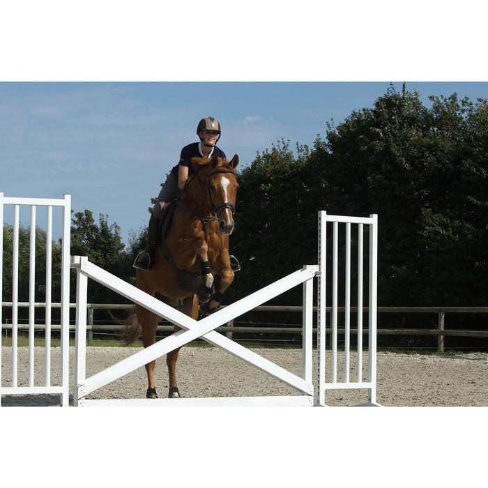 Pantalón equitación mujer BR980 LIGHT full grip silicona Marrón glacé