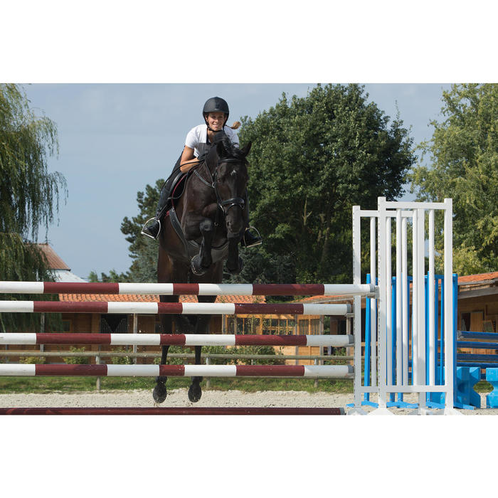 Filet + rênes équitation PULL BACK - taille cheval - 1127239