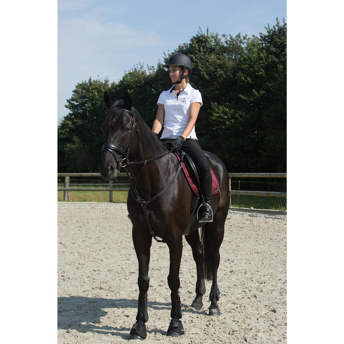 Filet + rênes équitation PULL BACK - poney et cheval - 1127242