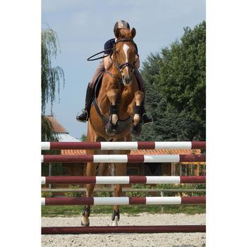 Filet + rênes équitation cheval et poney TINCKLE marron - 1127244