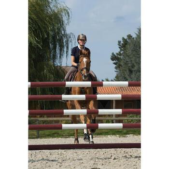 Filet + rênes équitation cheval et poney TINCKLE marron - 1127252