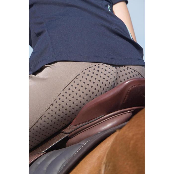 Pantalon équitation femme TRAINING LIGHT bandes silicone - 1127255