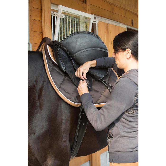 Sattelgurt Romeo Leder Pony/Pferd schwarz