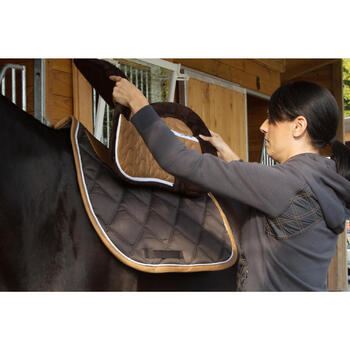 Amortisseur de dos mousse équitation cheval et poney LENA POLAIRE - 1127273